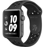Apple Watch Series 3 42mm Space Gray Aluminum Case with Anthracite/Black Nike Sport Band