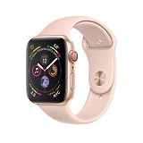 Apple Watch 4 40mm Gold Aluminum Case with Pink Sand Sport Band