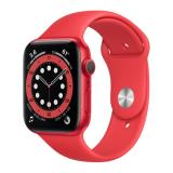 Apple Watch 6 44mm Red Aluminum Red Sp Band